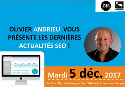 conférence Andrieur Rennes SEO